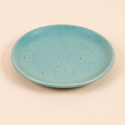 Spotted Sky Dinner Plate - Teal