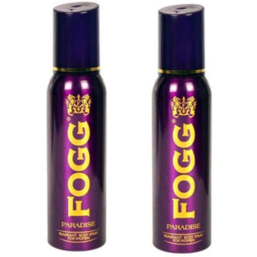 FOGG Paradise Deodorant For Women (Pack of 2) Deodorant Spray  -  For Women - Price in India, Buy FOGG Paradise Deodorant For Women (Pack of 2) Deodorant Spray  -  For Women Online In India, Reviews & Ratings | Flipkart.com