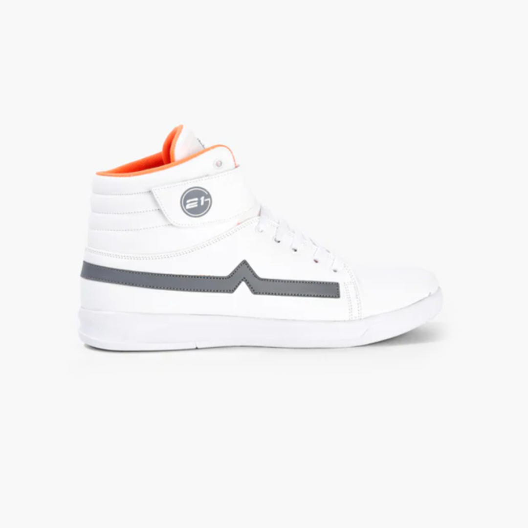 Mid-Top Lace-Up Casual Shoes
