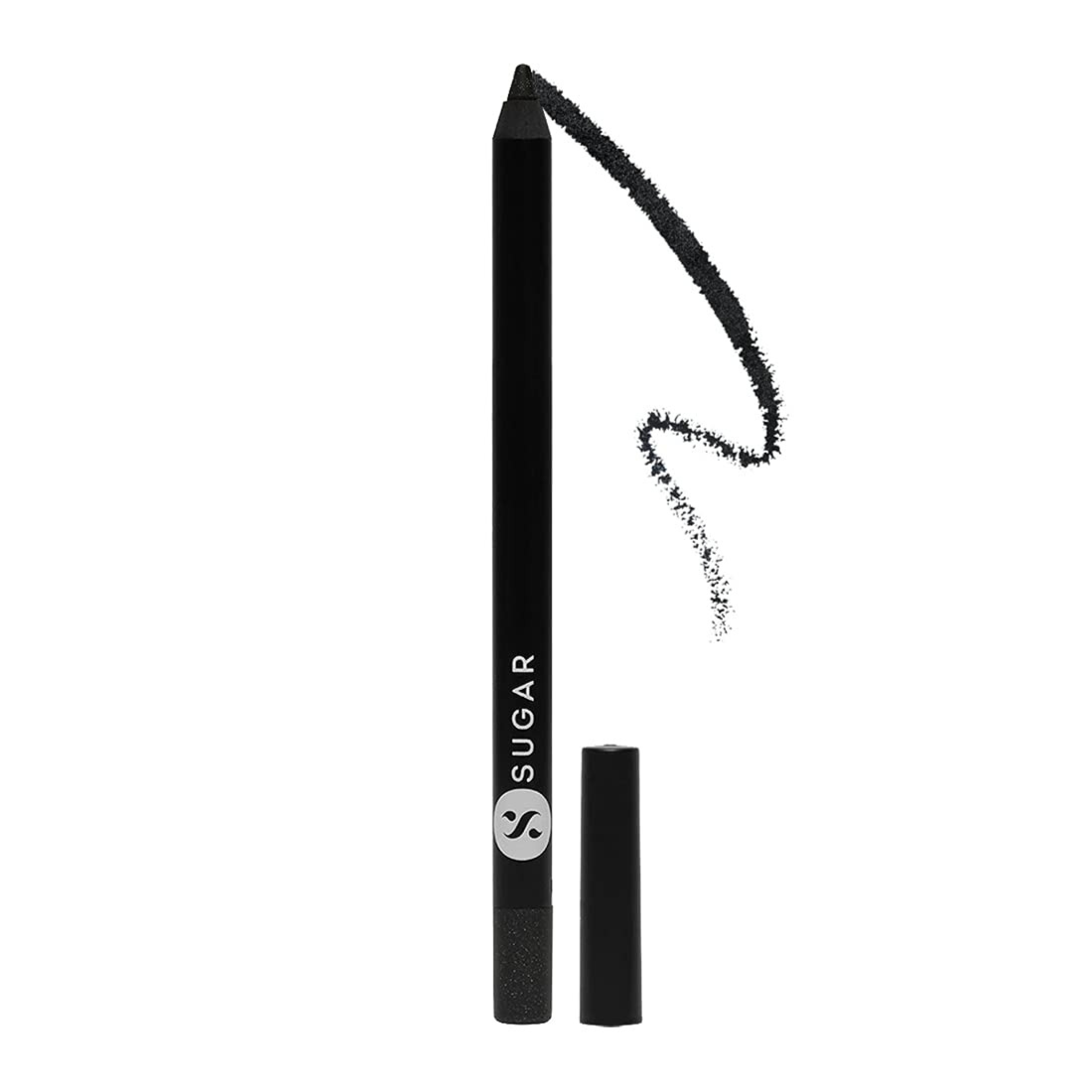 Stroke Of Genius Heavy-Duty Kohl - 05 Black Magic with Sharpener Waterproof Kohl,Creamy Texture, Sharpener Included Online at Low Prices in India - Amazon.in