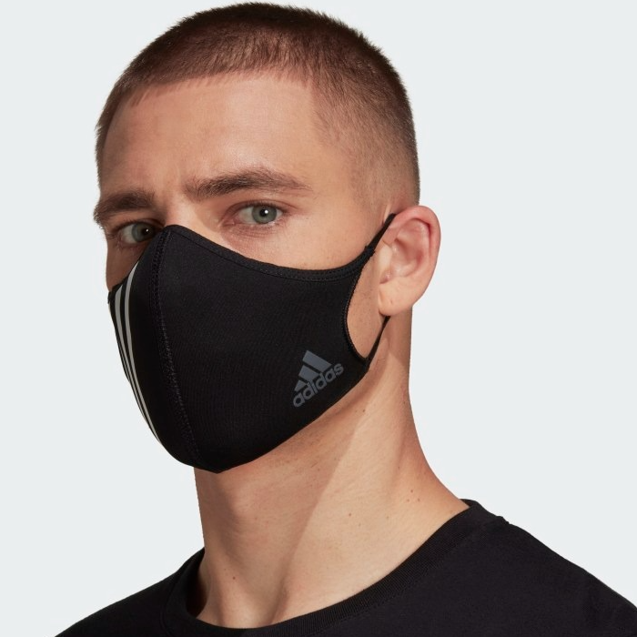 FACE COVER 3-STRIPES - NOT FOR MEDICAL USE