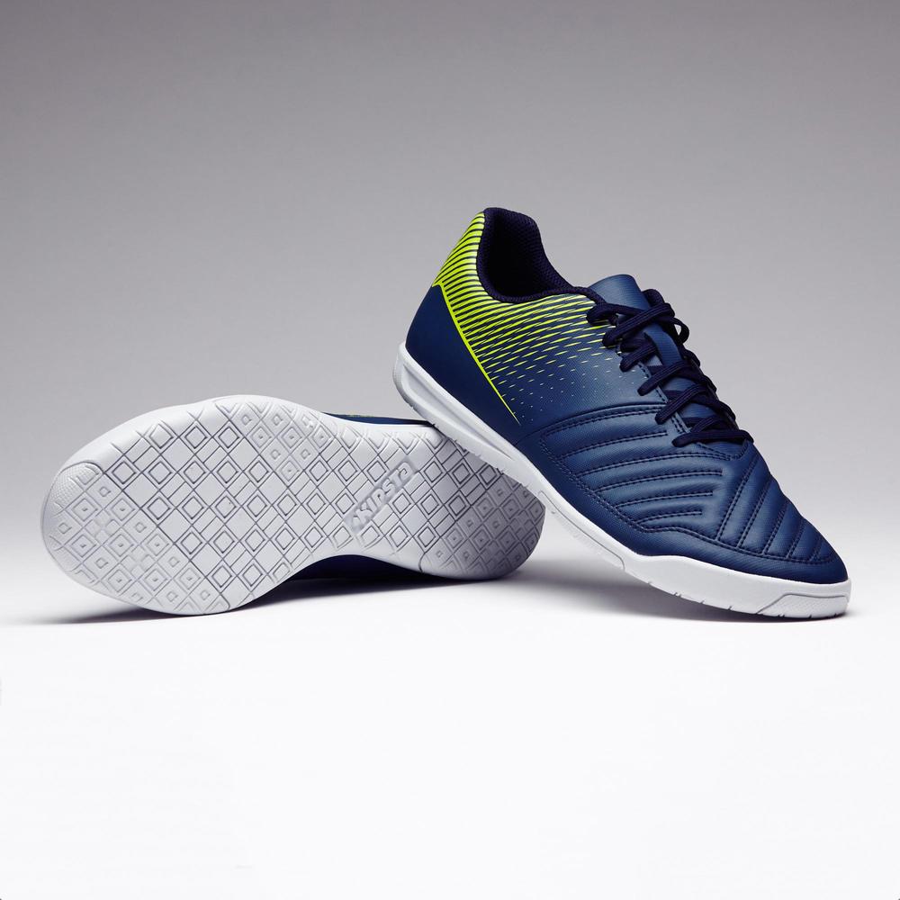 Men's Futsal Shoes Agility 100 - Blue/Yellow