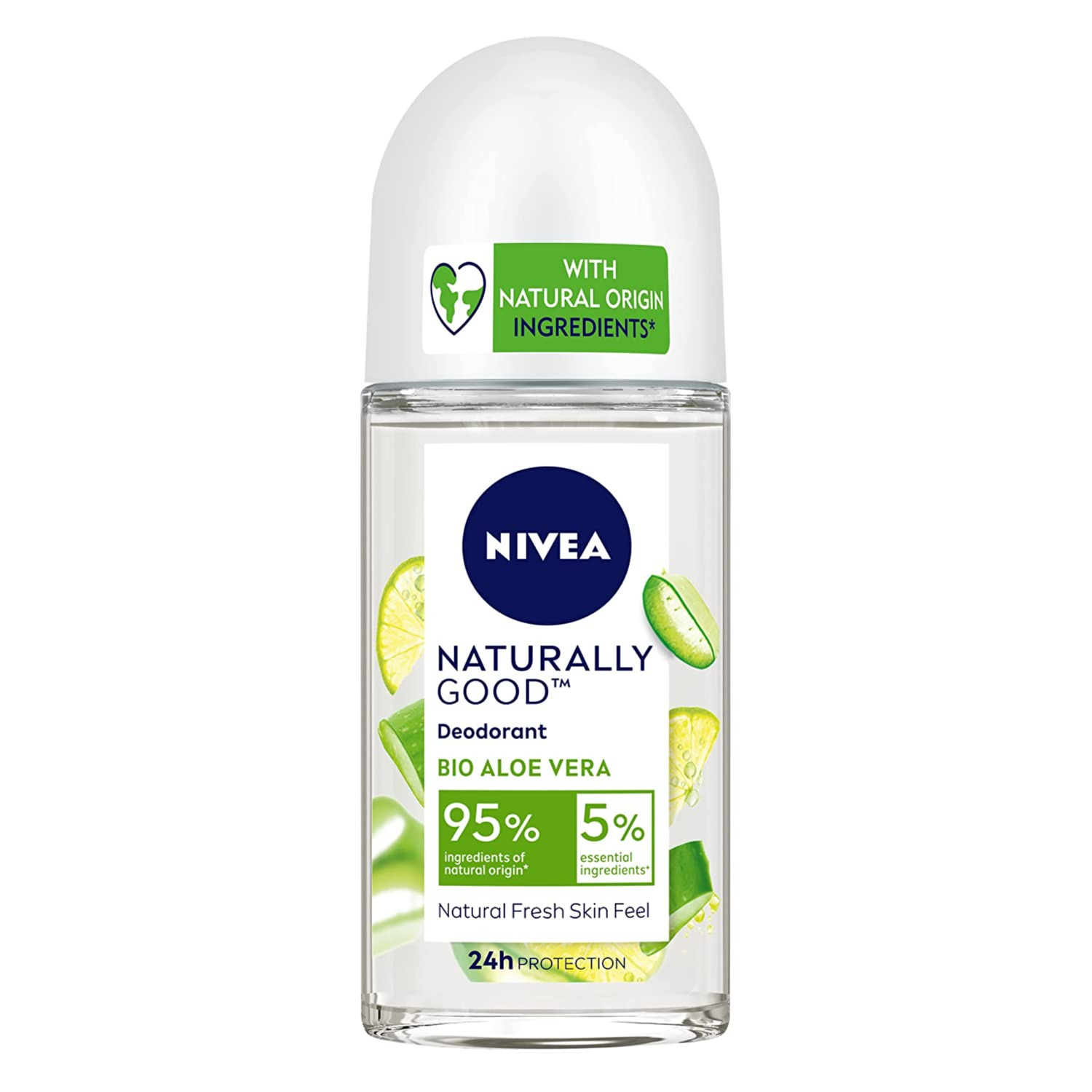 Buy NIVEA Naturally Good Deodorant Roll On, Bio Aloe Vera, 50 ml Online at Low Prices in India - Amazon.in