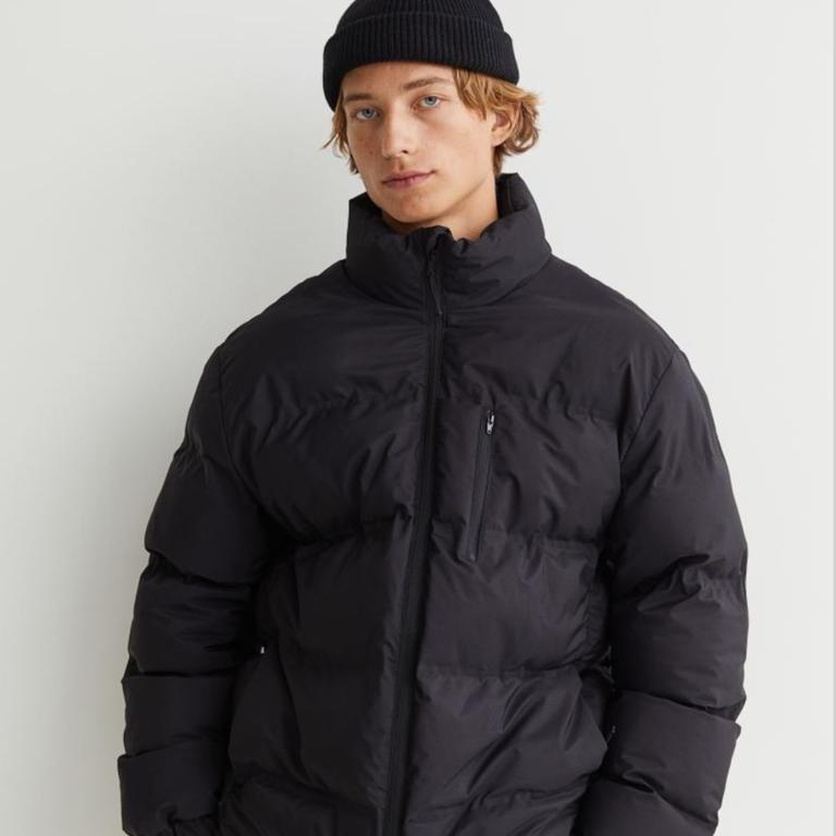 Water-repellent jacket - Black - Men | H&M IN
