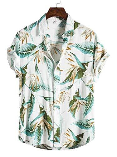 JSN ENTERPRISE Men's Cotton Floral Print Shirt