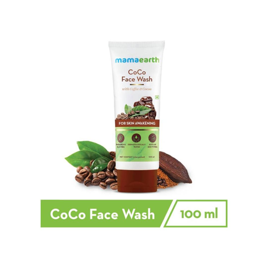 "MamaEarth ""CoCo Facewash, with Coffee & Cocoa for Skin Awakening – 100ml "" Face Wash  (100 ml)"