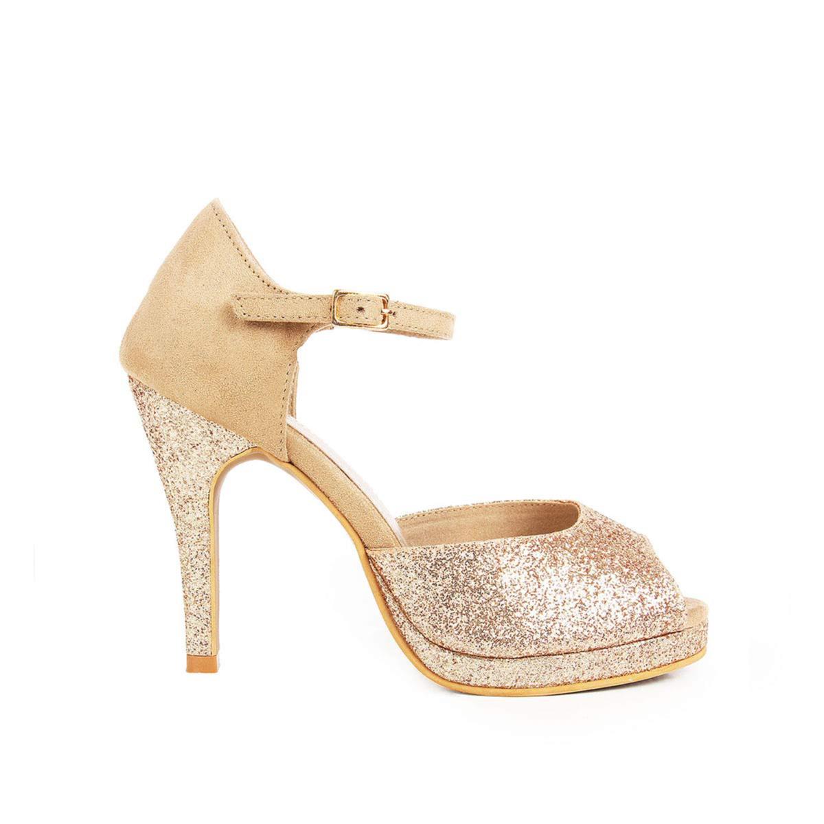 Rocia Women's Shimmer Stilettos