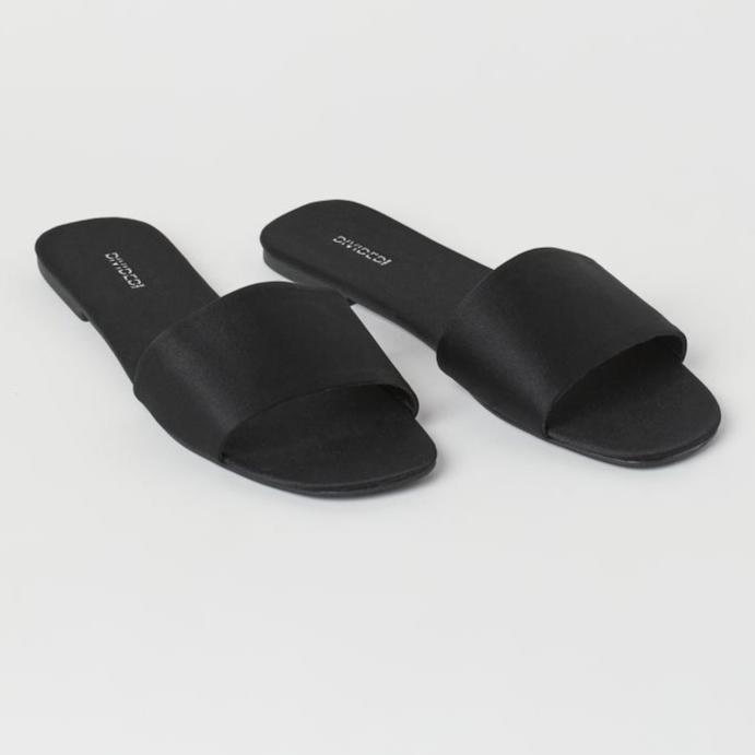 Slides - Black - Ladies | H&M IN