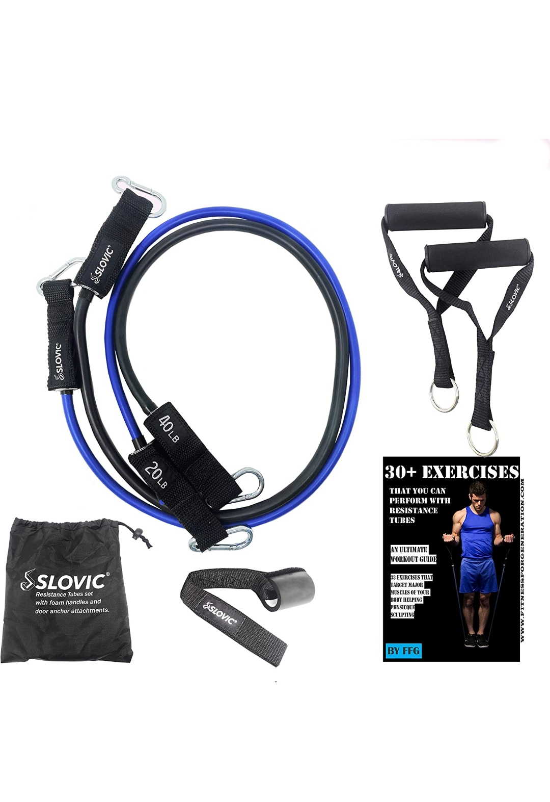 Slovic resistance band 60 lbs