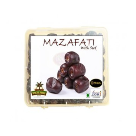 Buy Mazafati Dates 1 KG with seed Online - Get  56% Off