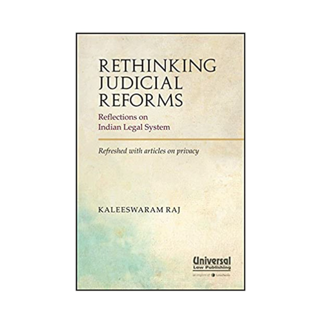 Buy Rethinking Judicial Reforms - Reflections On Indian Legal System Book Online at Low Prices in India | Rethinking Judicial Reforms - Reflections On Indian Legal System Reviews & Ratings - Amazon.in