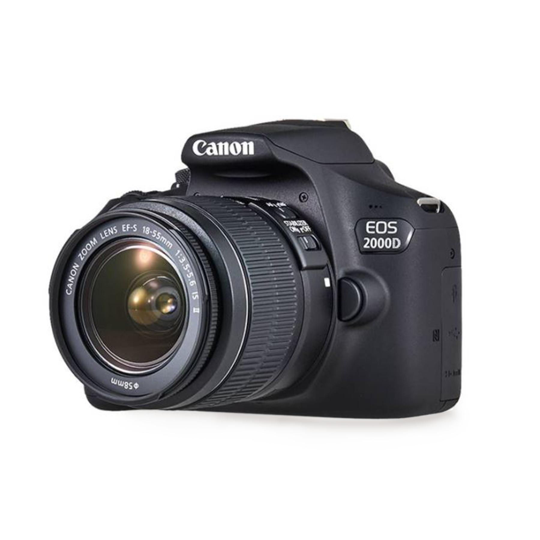 Canon EOS 2000D (Rebel T7) DSLR Camera