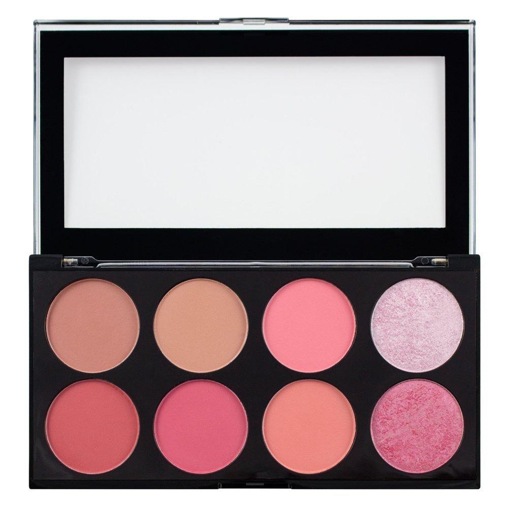 Makeup Revolution London Sugar And Spice Ultra Blush Palette, Multi-Color, 13g