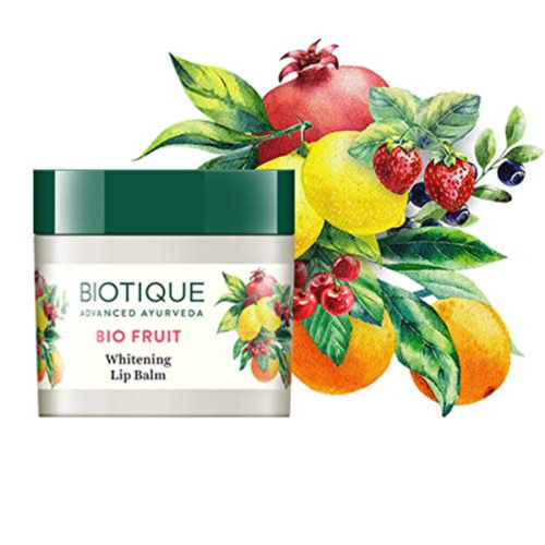 Buy Biotique Bio Fruit Whitening Lip Balm, 12g Online at Low Prices in India - Amazon.in