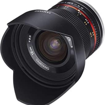 Samyang 12 mm F2.0 Manual Focus Lens for Fuji X