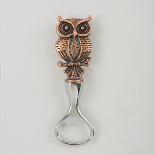 Rustic Owl Bottle Opener