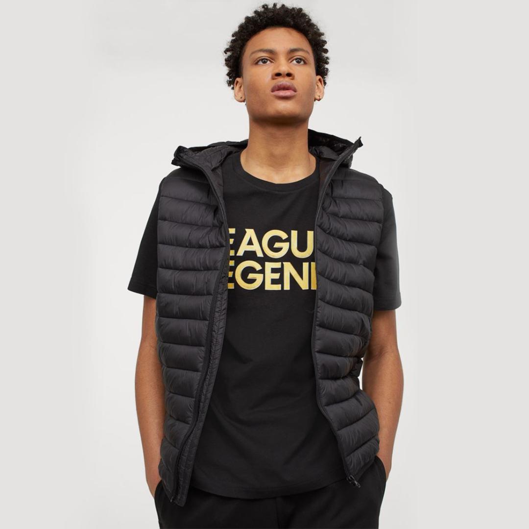 Regular Fit T-shirt - Black/League of Legends - Men | H&M IN