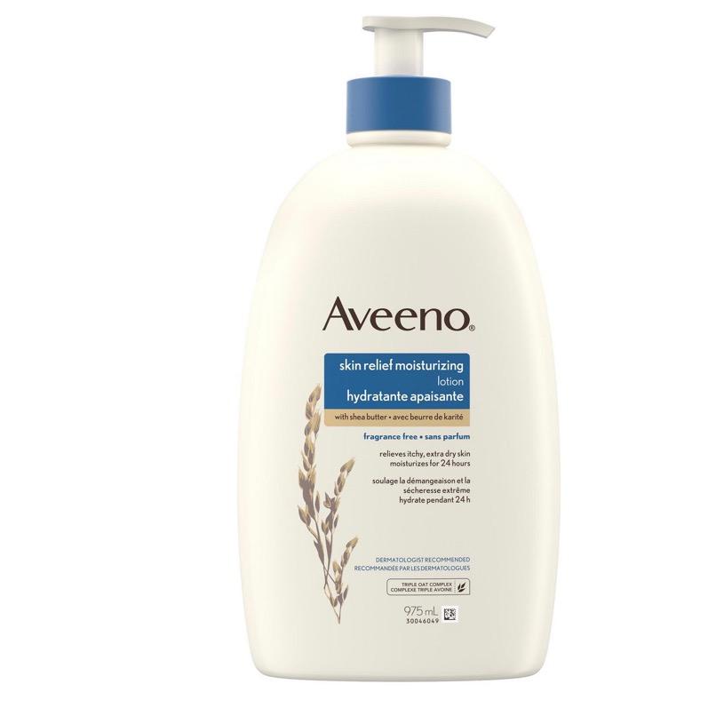 Aveeno skin relief body lotion