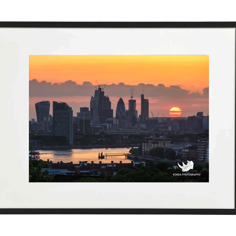 Greenwich Park Sunset, London