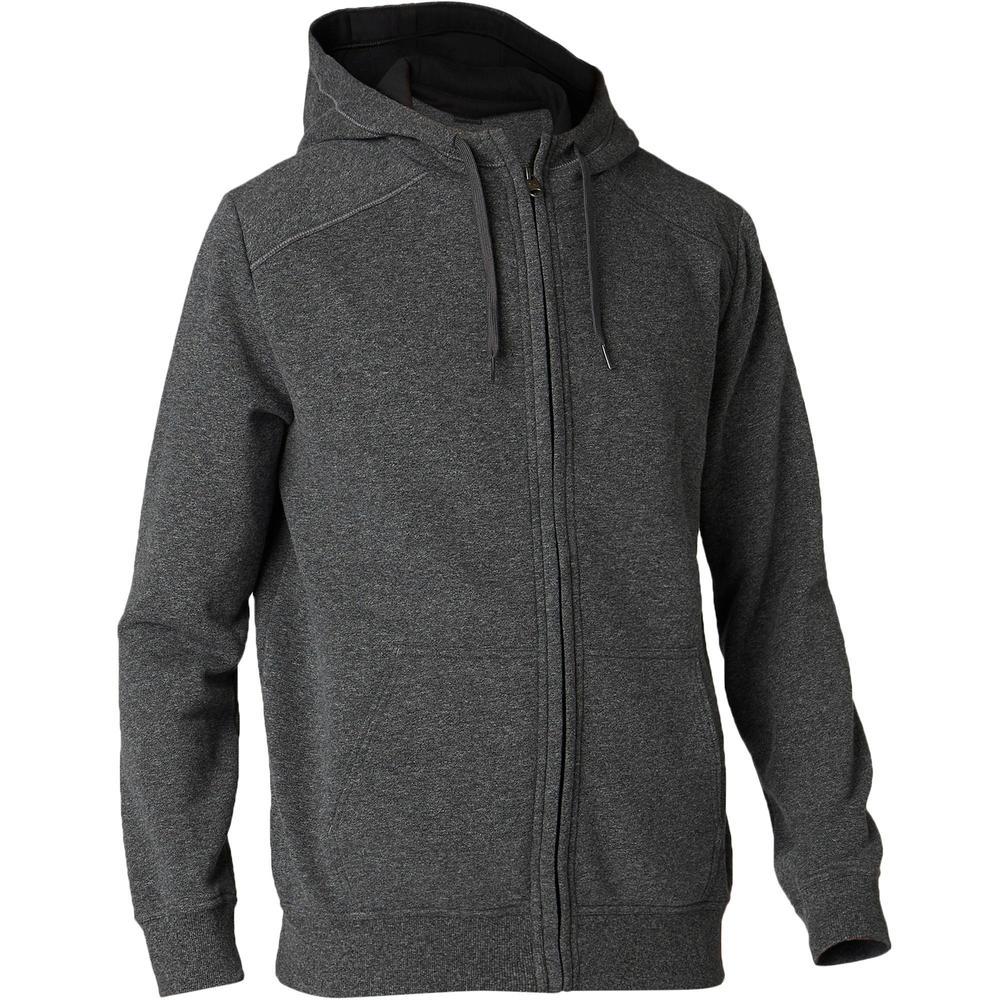 Men's Cotton Gym Jacket Hoodie Fleece 900
