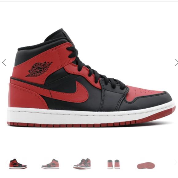 Nike Air Jordan 1 (Red & Black)