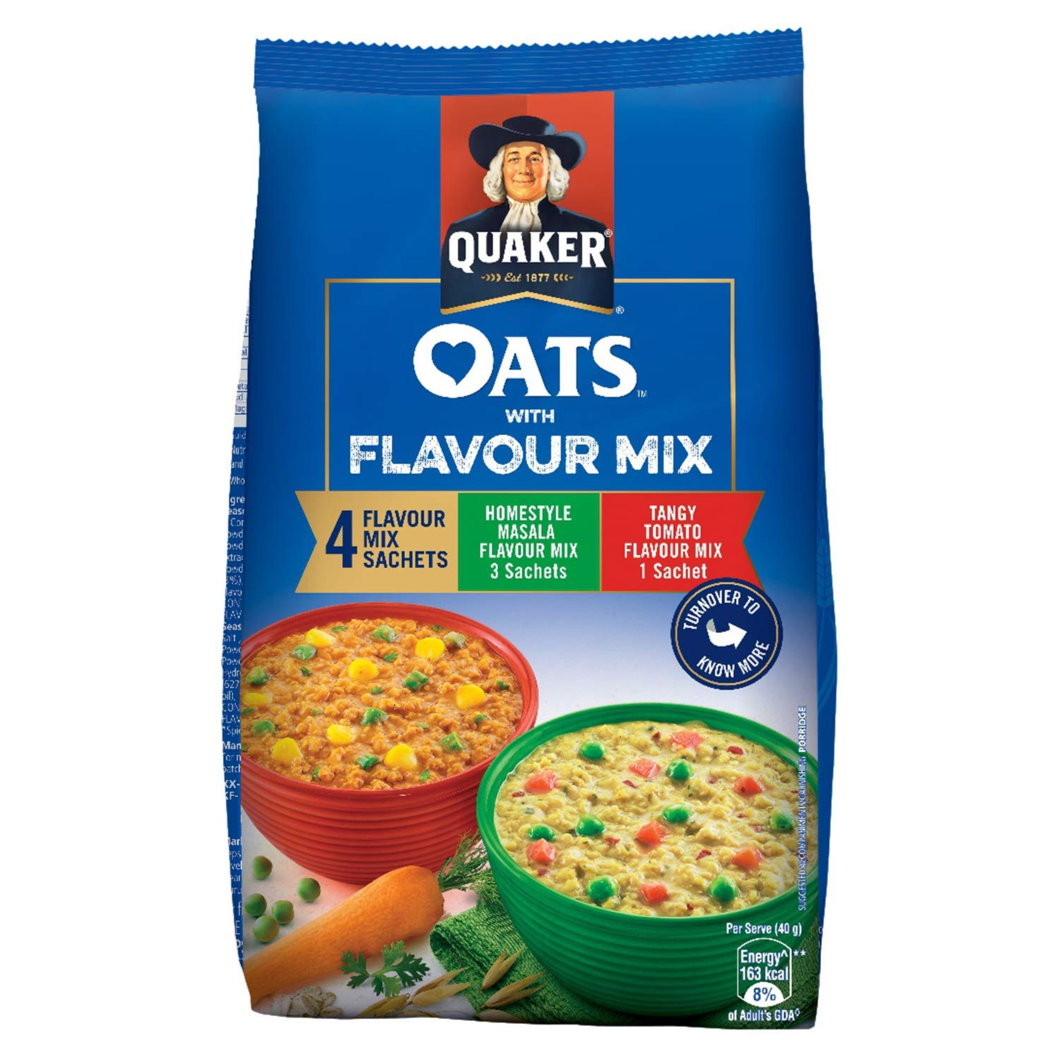 Quaker Oats with Flavour Mix, 200gm : Amazon.in: Grocery & Gourmet Foods