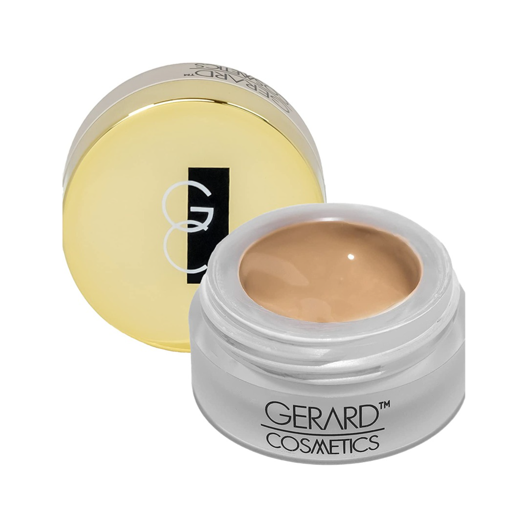 Gerard Cosmetics Clean Canvas MEDIUM Eye Concealer and Base Smudge Proof | Makeup Primer and Eyeshadow Base | Made in the USA | Vegan Formula | Cruelty Free