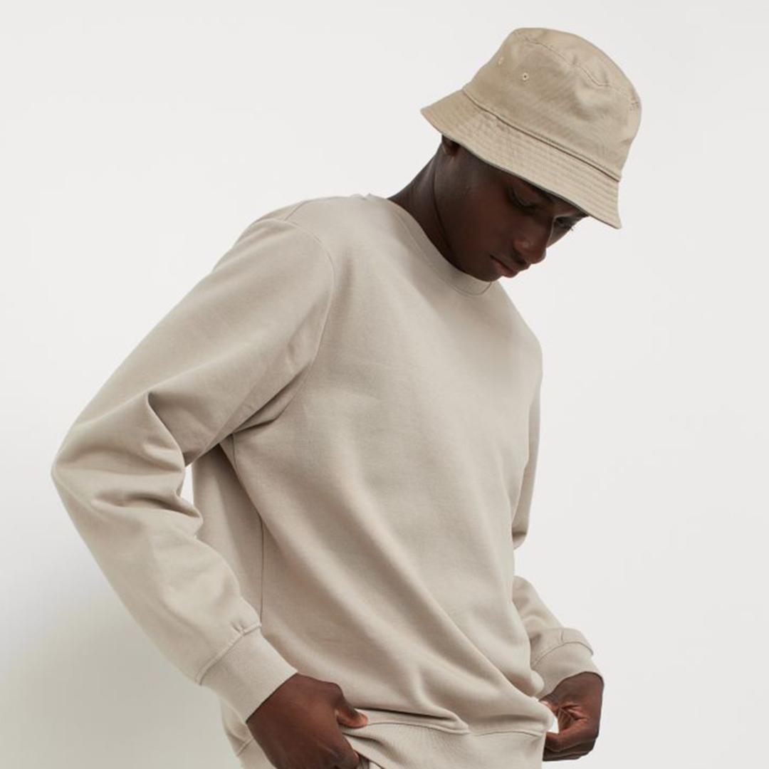 Relaxed Fit Sweatshirt - Greige - Men | H&M IN
