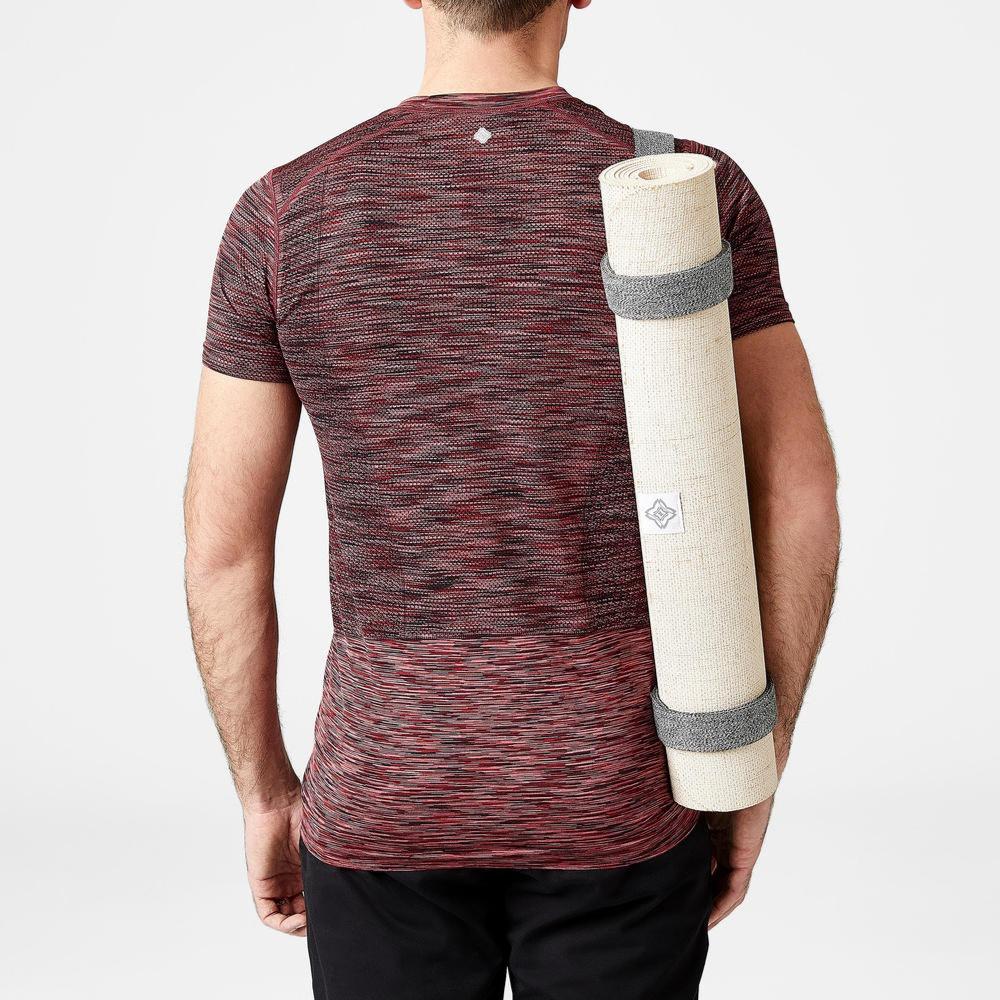 Buy Yoga Mat Bag - Blue Print | Yoga Accessories in India | Decathlon